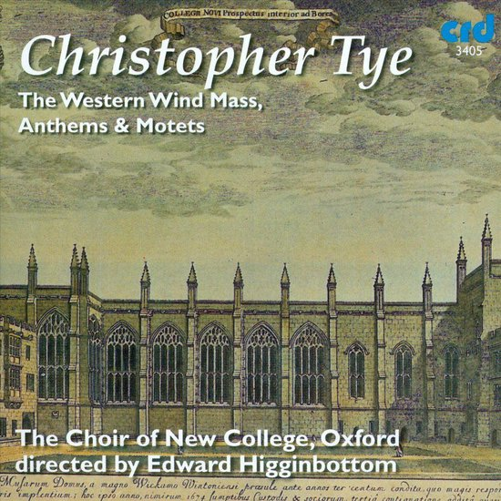 The Western Wind Mass, Anthems & Motets