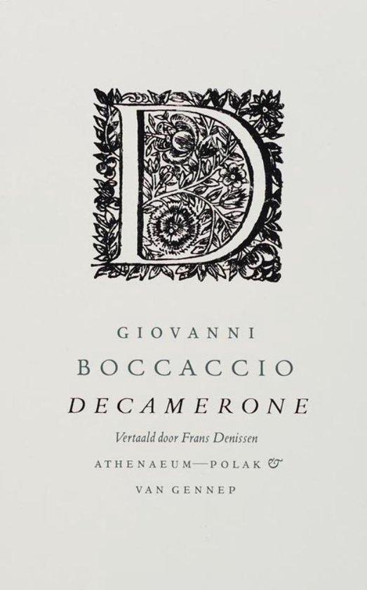 Boek cover Decamerone van Giovanni Boccaccio (Onbekend)