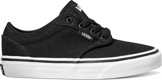 Vans Yt Atwood Jongens Sneakers (Canvas) BlackWhite Maat 34