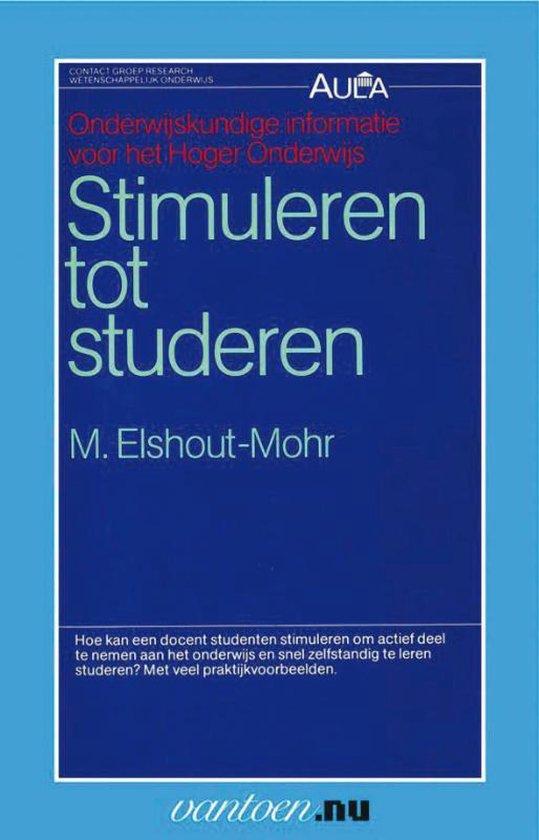 Vantoen.nu - Stimuleren tot studeren - M. Elshout-Mohr | Fthsonline.com