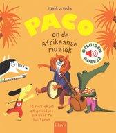 Boek cover Paco en de Afrikaanse muziek van Magali Huche