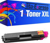 PlatinumSerie® toner XXL magenta alternatief voor Kyocera Mita TK-580-4.000 pagina 's