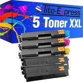PlatinumSerie® 5 toner XXL alternatief voor Kyocera Mita TK-580
