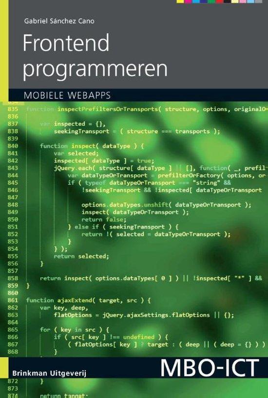 MBO-ICT - Frontend programmeren - Gabriel Sanchez Cano |