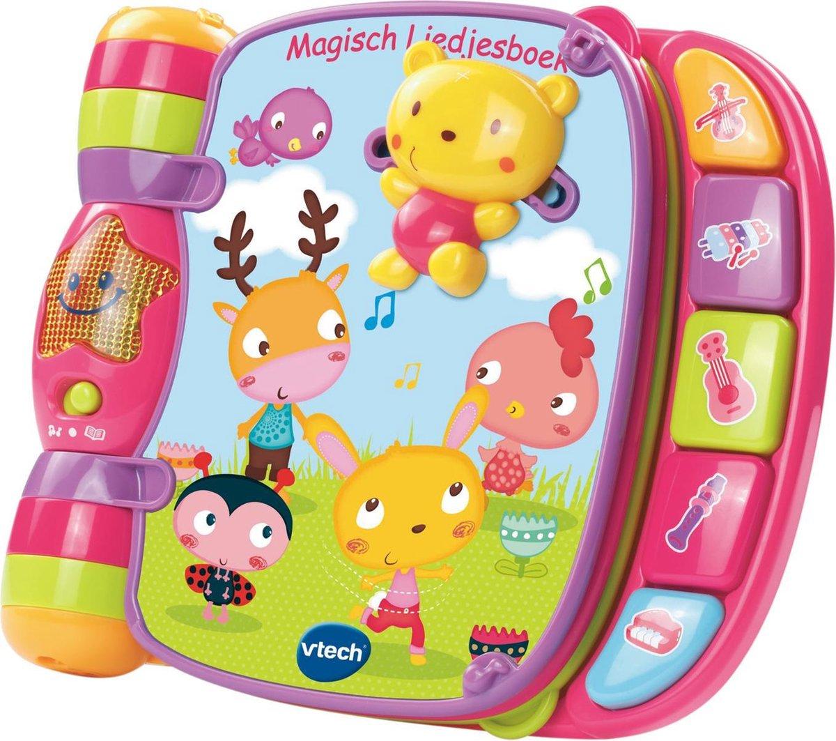VTech Baby Magisch Liedjesboek - Roze - Educatief Babyspeelgoed