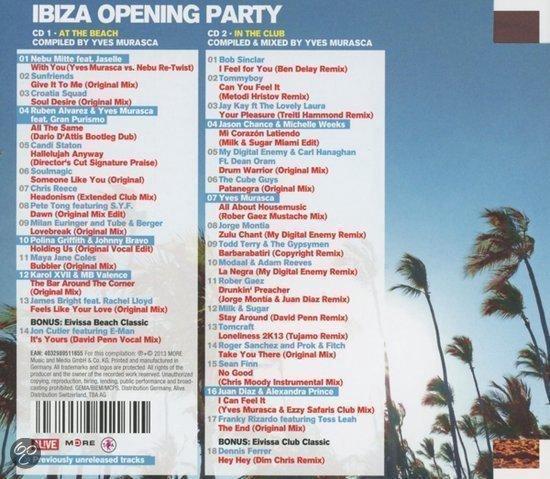 Ibiza Opening Party 2013