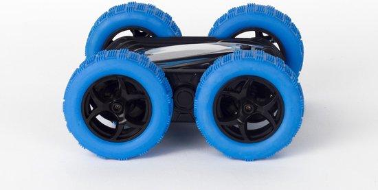 Wonky Cars - Stunt Car - 360° - RC - RC Auto - Bestuurbare Auto - Radiografische Auto - Blauw - Wonky Cars