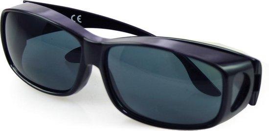 Overzetzonnebril | Zonnebril voor brildragers - ideaal bij gevoelige ogen
