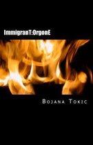 Boek cover Immigrant van Bojana Tokic