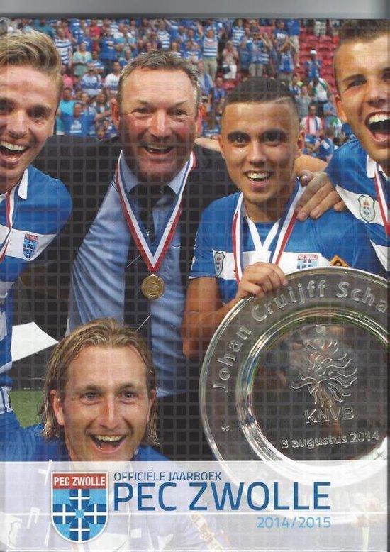 Officiele Jaarboek PEC Zwolle 2014-2015 - Koen Te Riele |