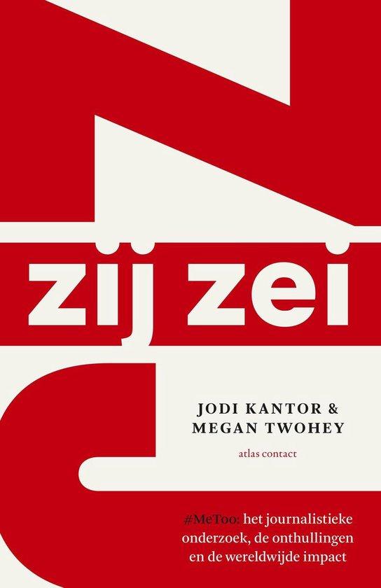 Boek cover Zij zei van Jodi Kantor (Paperback)