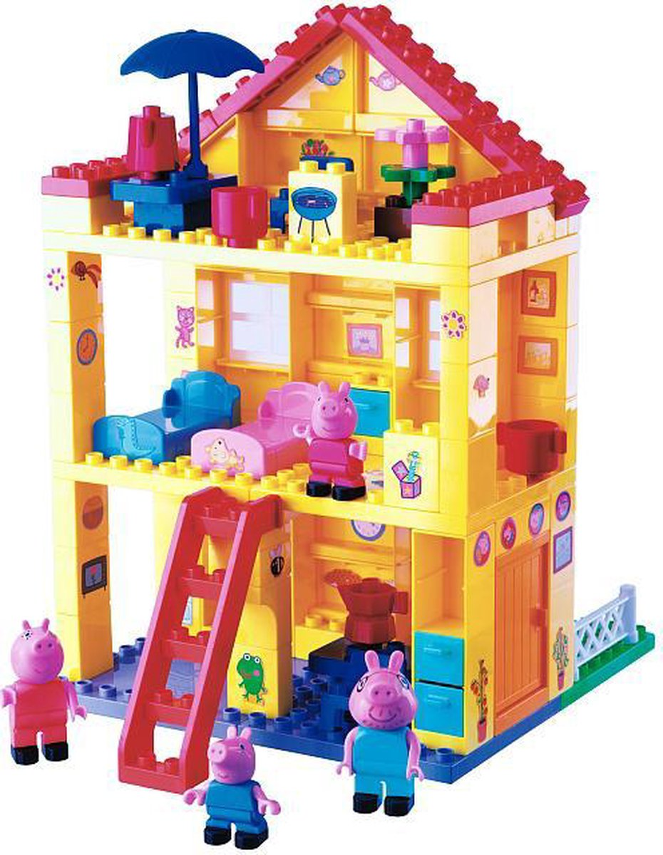BIG Bloxx Peppa Pig Peppa's Huis - Constructiespeelgoed - BIG