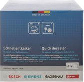 Bosch / Siemens Wasmachine Vaatwasser ontkalker - 4 stuks 250 gram