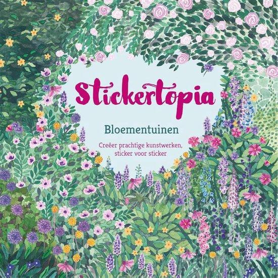 Stickertopia Bloementuinen - none  