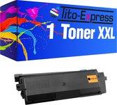 PlatinumSerie® toner XXL black alternatief voor Kyocera Mita TK-580-5000 pagina 's