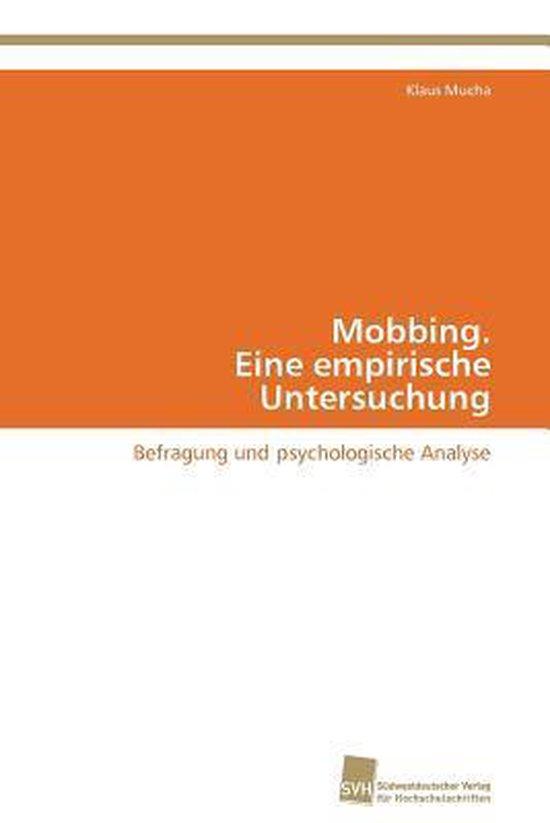 Mobbing. Eine empirische Untersuchung