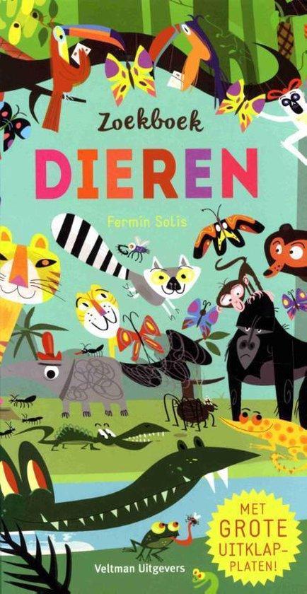 Boek cover Zoekboek Dieren van Fermin Solis (Hardcover)