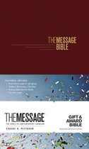 Message Gift and Award Bible, Burgundy