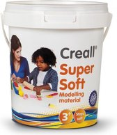 Klei Soft 5kl.assortiment Creall 450gr. in emmer