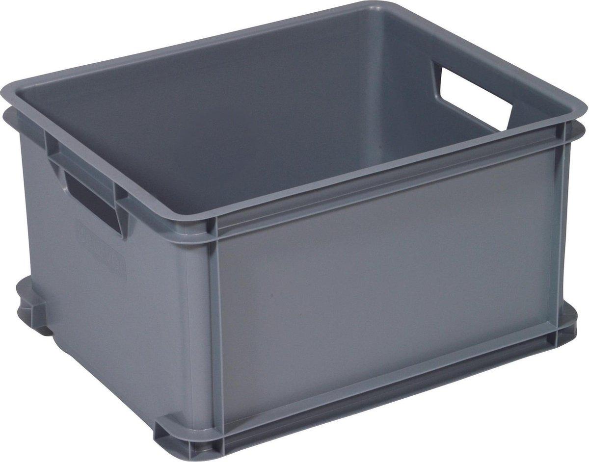 Curver Classic Unibox Opbergbox - Maat L - 30 liter - Grijs