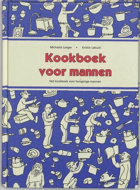 Kookboek voor mannen - M. Langer |