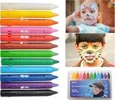 Schminkset - Kinder Make-up Glitter Gezicht Grime Palet Set - Meisje Beauty Makeupset Palette
