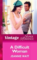 Omslag A Difficult Woman (Mills & Boon Vintage Superromance)