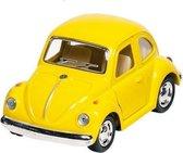 Goki Metalen volkswagen klassieke kever 1967: geel