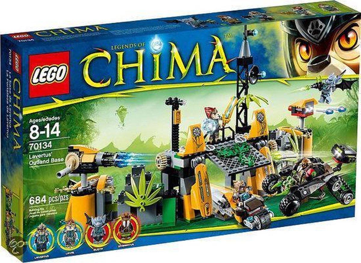 LEGO Chima Lavertus Buitengebied Basis - 70134