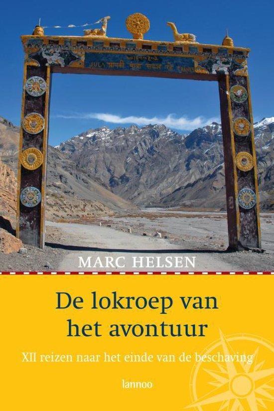 Cover van het boek 'De lokroep van het avontuur' van Marc Helsen