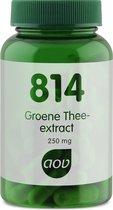 AOV 814- Groene Thee Extract - 60 vegacaps - Kruiden - Voedingssupplementen