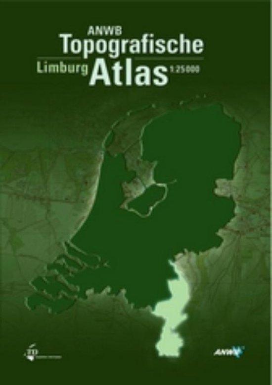 Boek cover ANWB Topografische Atlas Limburg van Onbekend