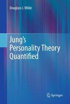 Boek cover Jungs Personality Theory Quantified van Douglass J. Wilde