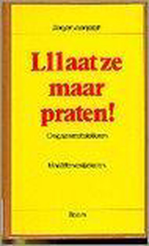 LAAT ZE MAAR PRATEN (ZJ) - Mariette van Eekelen |
