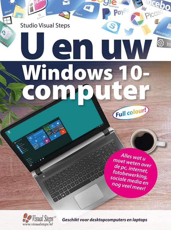 U en uw Windows 10-computer - Studio Visual Steps |