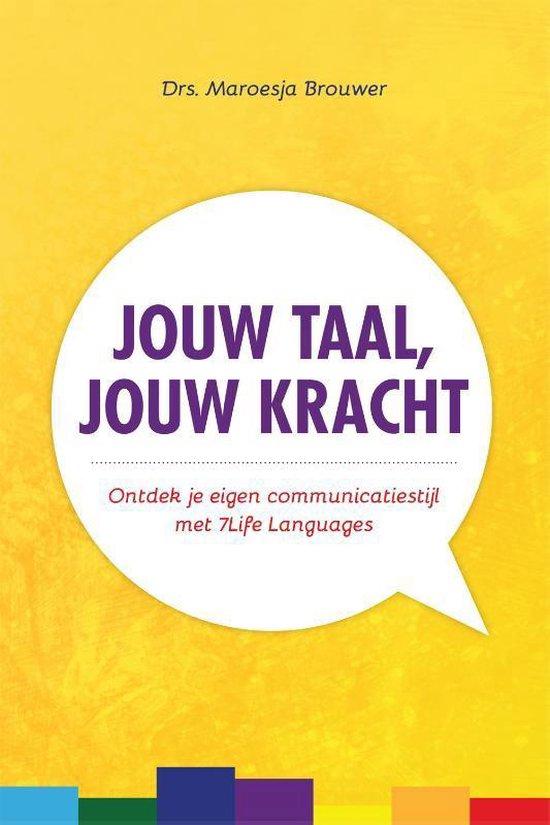 Cover van het boek 'Jouw taal, jouw kracht'