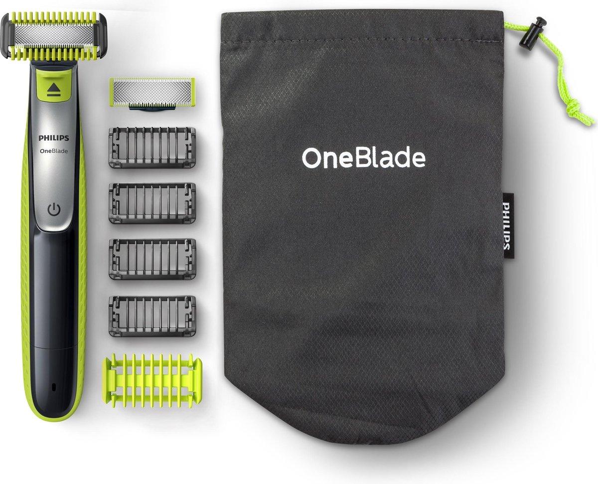 Philips OneBlade Face + Body QP2630/30 - Trimmer, scheerapparaat en styler