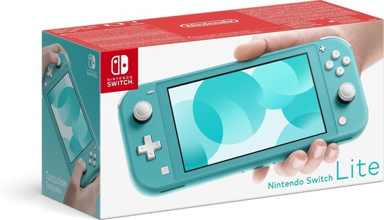 Afbeelding van Nintendo Switch Lite Console - Turquoise
