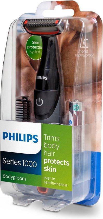 Philips BG105/10 1000 serie - Body groom 100% waterdicht - Philips
