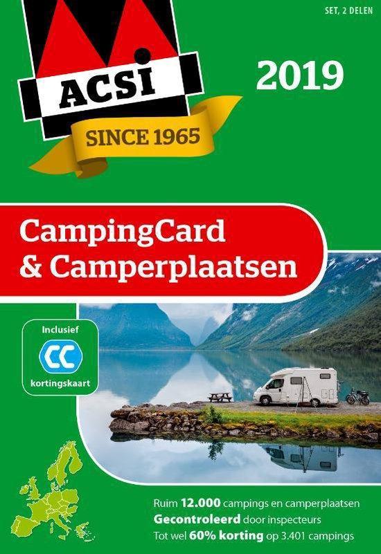ACSI Campinggids - ACSI CampingCard & Camperplaatsen 2019 set 2 delen - Acsi   Readingchampions.org.uk