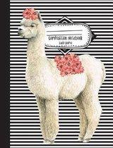Composition Notebook Lady Llama