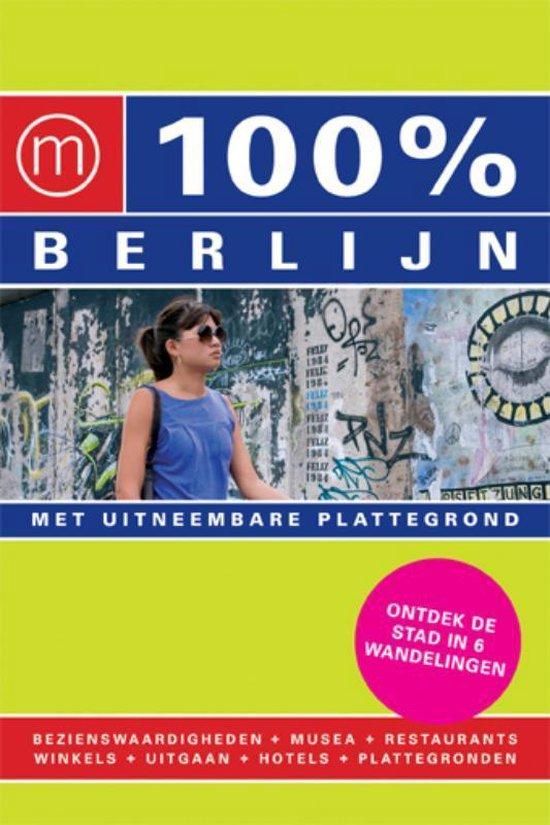 Cover van het boek '100% Berlijn / druk Heruitgave' van Marjolein den Hartog