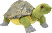 Pluche schildpad knuffel 28 cm � knuffeldier