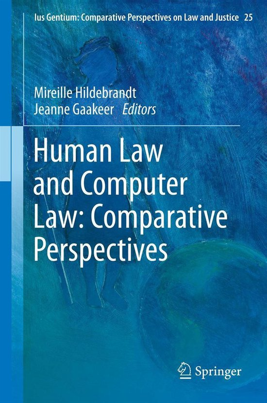 Boek cover Human Law and Computer Law: Comparative Perspectives van  (Onbekend)