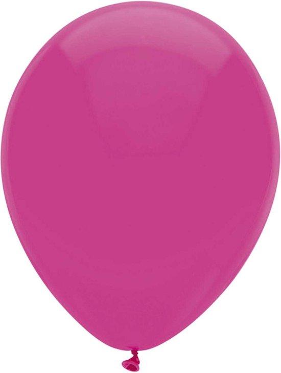 Haza Original Ballonnen Donkerroze 10 Stuks