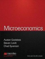 Boek cover Microeconomics (Palgrave Version) van Austan Goolsbee