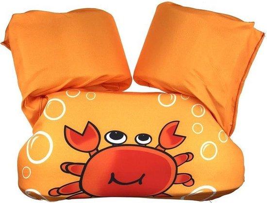 Zwemvest kinderen - Krabben | 2 - 6 jaar | 15 - 25kg | Veilig zwemmen | Zwemband | Reddingsvest | Kidzstore.eu