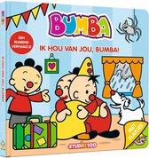 Bumba kartonboek met flapjes 0 -   Ik hou van jou, Bumba!
