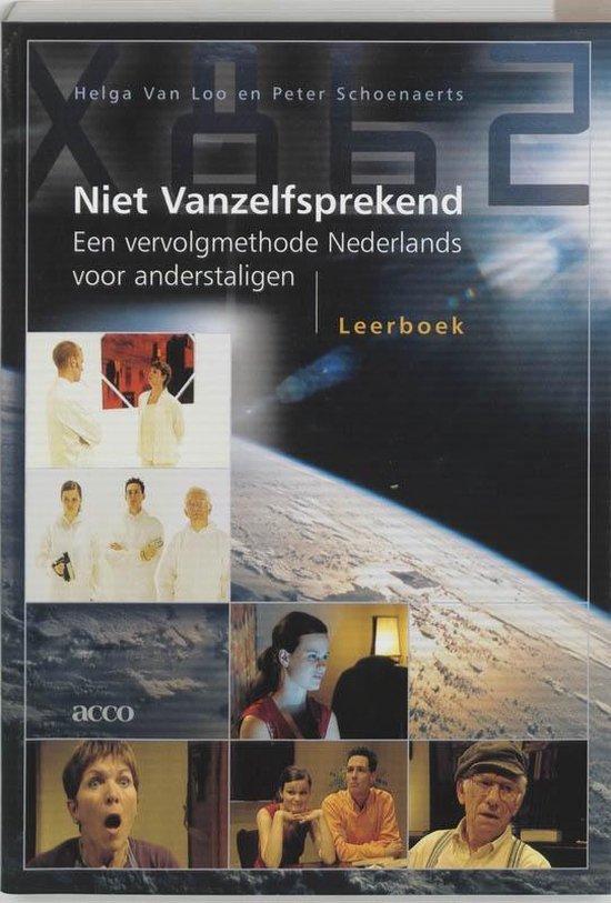 Boek cover Niet vanzelfsprekend Leerboek van H. van Loo (Paperback)