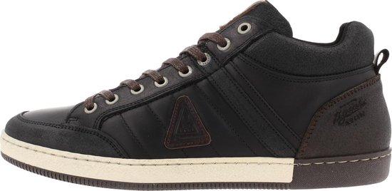 Gaastra Willis Mid Ctr Sneaker Men Black-Brown 43